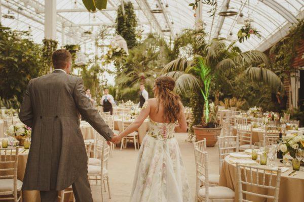 Wedding venue the Wisley Glasshouse