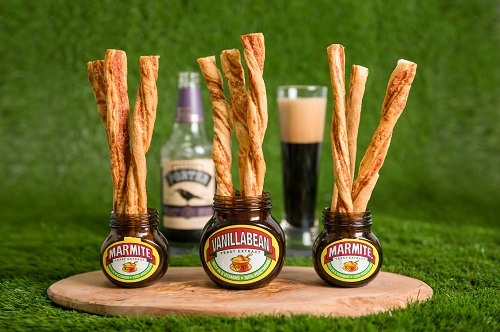 Menus: Westcombe Cheddar and Marmite cheese straws