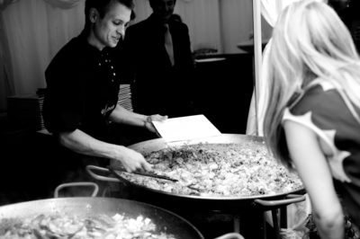 Paella vs Brazillian BBQ