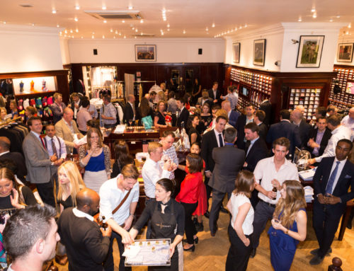 In the Pink: Thomas Pink corporate networking event